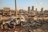 Explosão deixa Beirute, capital do Líbano, com cenas de guerra
