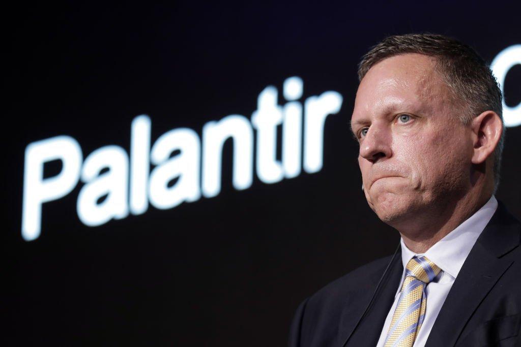 Peter Thiel, co-fundador da Palantir: empresa fará estreia na bolsa