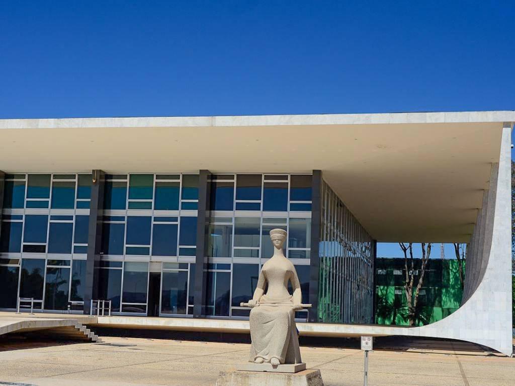 Fachada do edifício sede do Supremo Tribunal Federal - STF