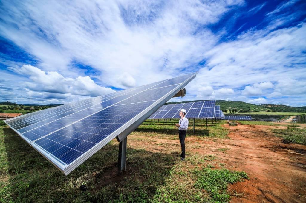 Usina Solar em Porteirinha MG do Banco do Brasil com parceria da EDP foto:Leandro Fonseca data: 12/03/2020