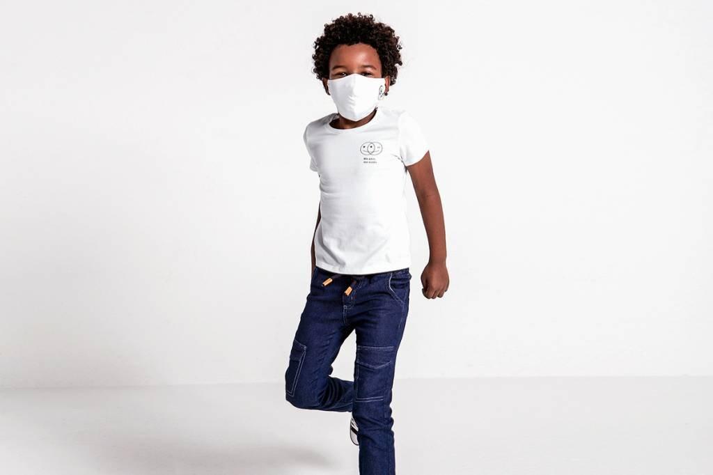 Riachuelo jeans e camisetas antivirais coronavírus