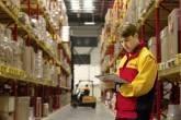 Centro de distribuição da DHL empresa de transporte e logística