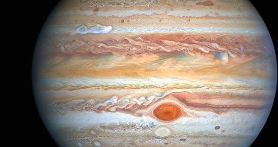 Imagem de Júpiter pelo Hubble