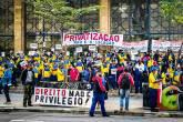 Manifestação realizada em Campinas