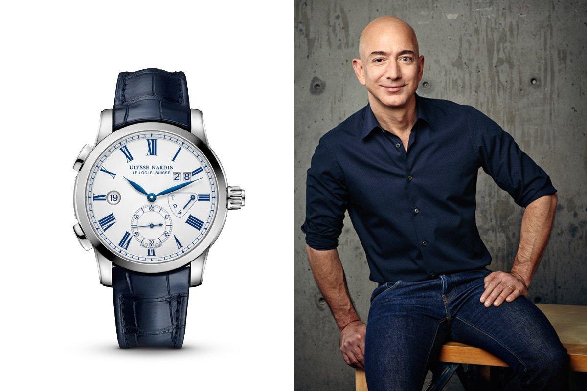 Jeff Bezos e o Ulysse Nardin Dualtime