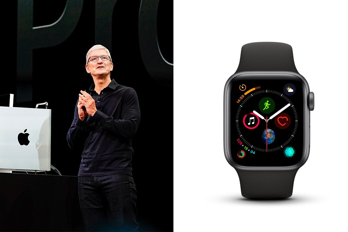 Tim Cook e o Apple Watch