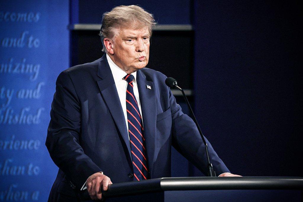Donald Trump e Joe Biden participam do primeiro debate presidencial