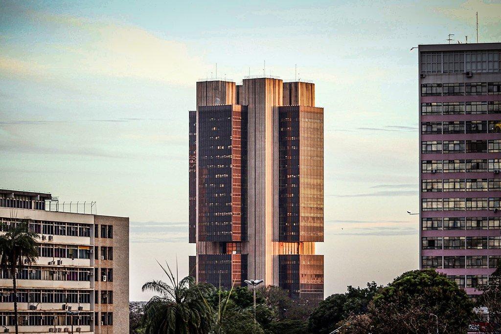 Vista do prédio do Banco Central brasileiro, em Brasília. Foto: Gregg Newton/Bloomberg