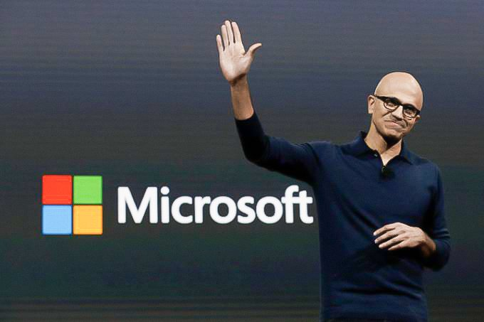 SATYA NADELLA, CEO DA MICROSOFT: relatório publicado pelo Morgan Stanley aponta que a Microsoft será a primeira empresa a atingir 1 trilhão de dólares em valor de mercado