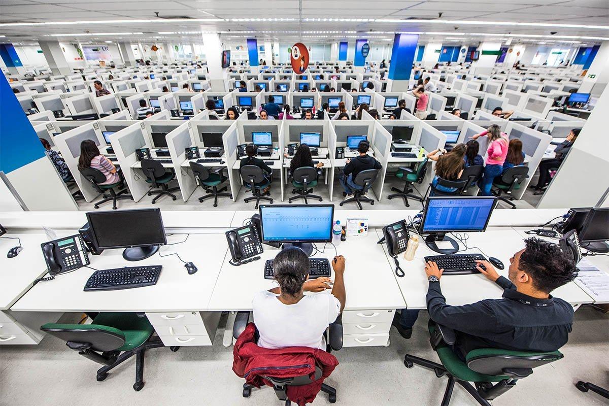 Contax; Callcenter; Telemarketing, Serviços