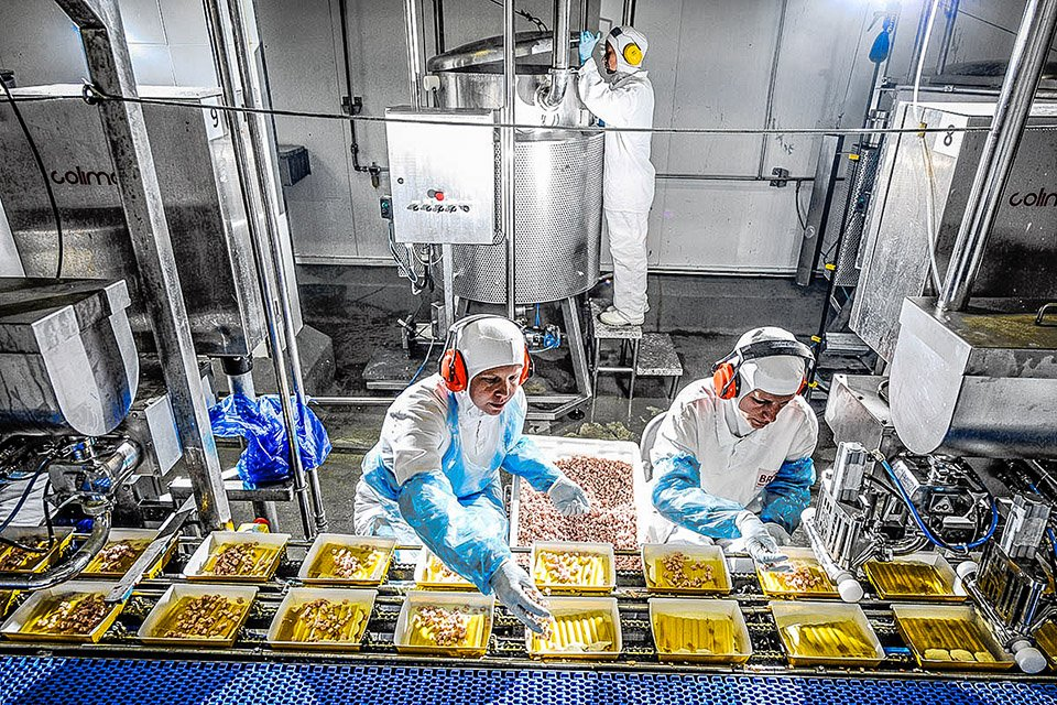 Sadia; BrFoods; BRF; Lasanha peru; Produção; Fábrica; Alimento