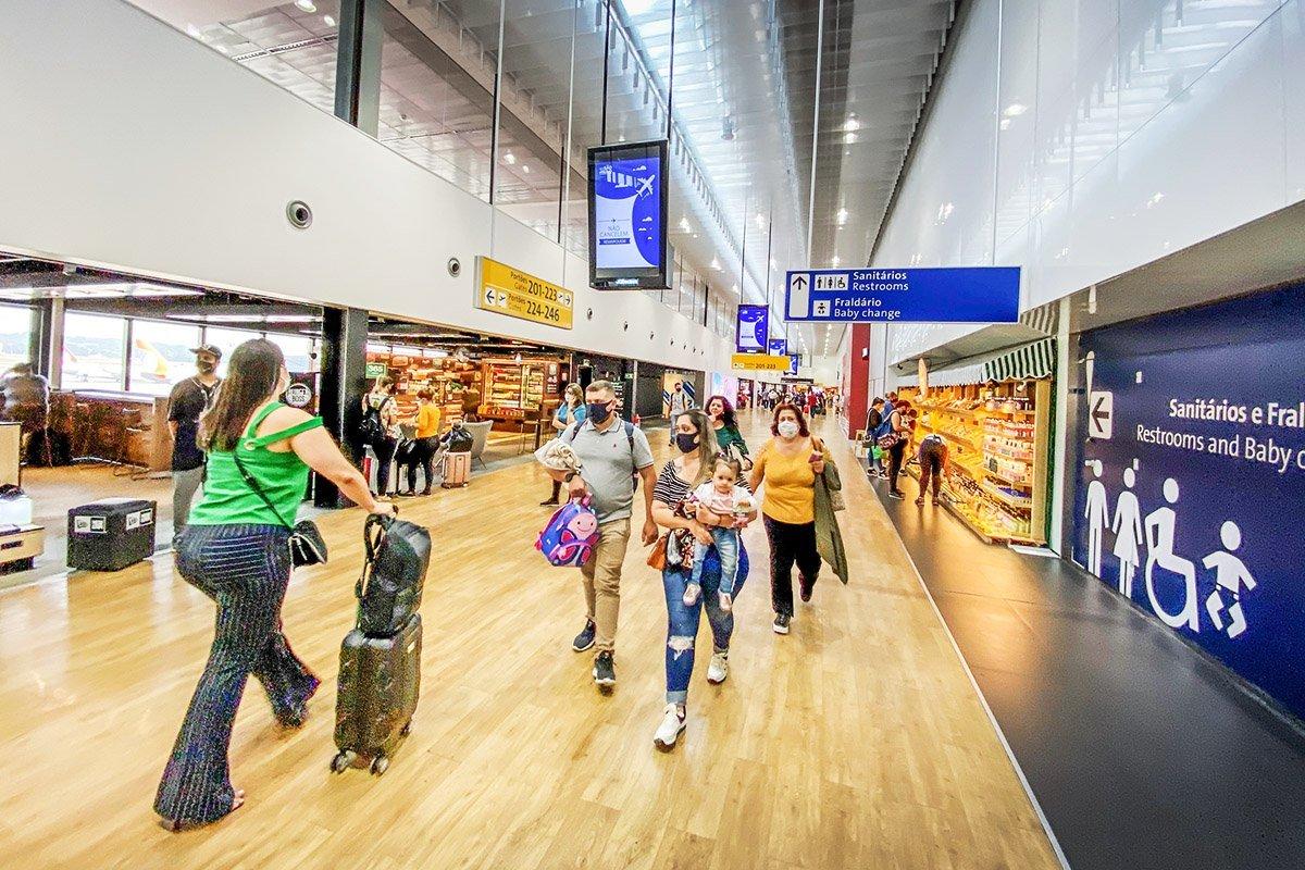 aeroporto; internacional; guarulhos; cumbica; Passageiros; aerea gol; embarque; domestico; covid 19
