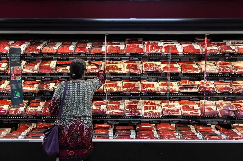carne; consumidores; frios; pão de açucar; supermercado; Alimentos