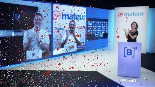 IPO do Grupo Mateus na bolsa