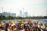 Nesse feriadão de 7 de setembro, os dias de sol movimentaram as praias do Rio de Janeiro, apesar da proibição de permanência na faixa de areia, dentro do plano de flexibilização gradual das atividades econômicas e sociais da pandemia da covid-19.