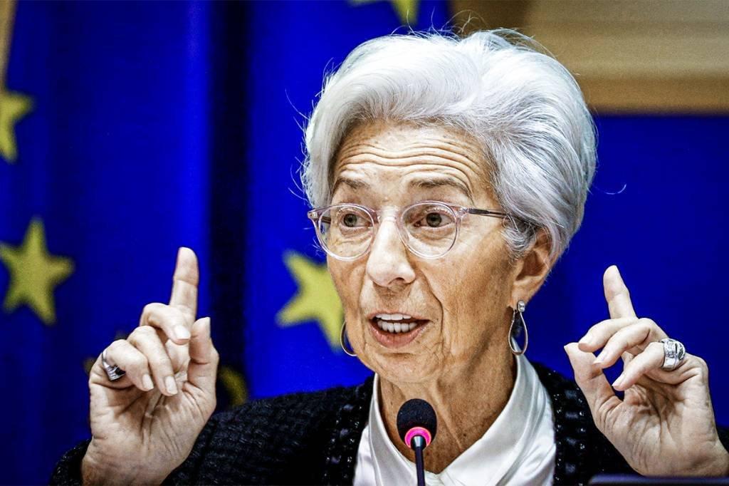 Presidente do Banco Central Europeu, Christine Lagarde