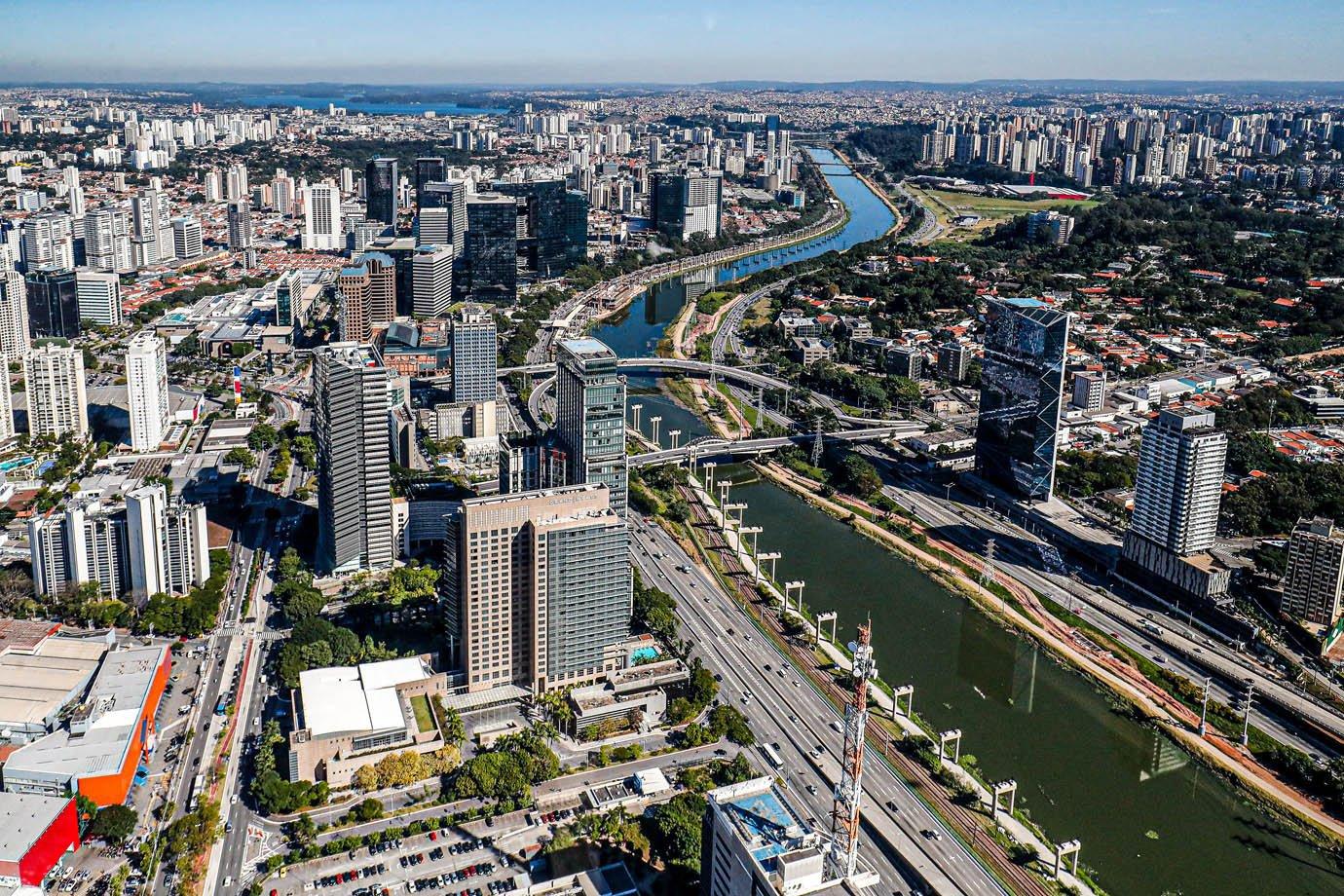 (São Paulo - SP, 28/05/2019) Vista aérea da cidade de São Paulo. Foto: Alan Santos/PR