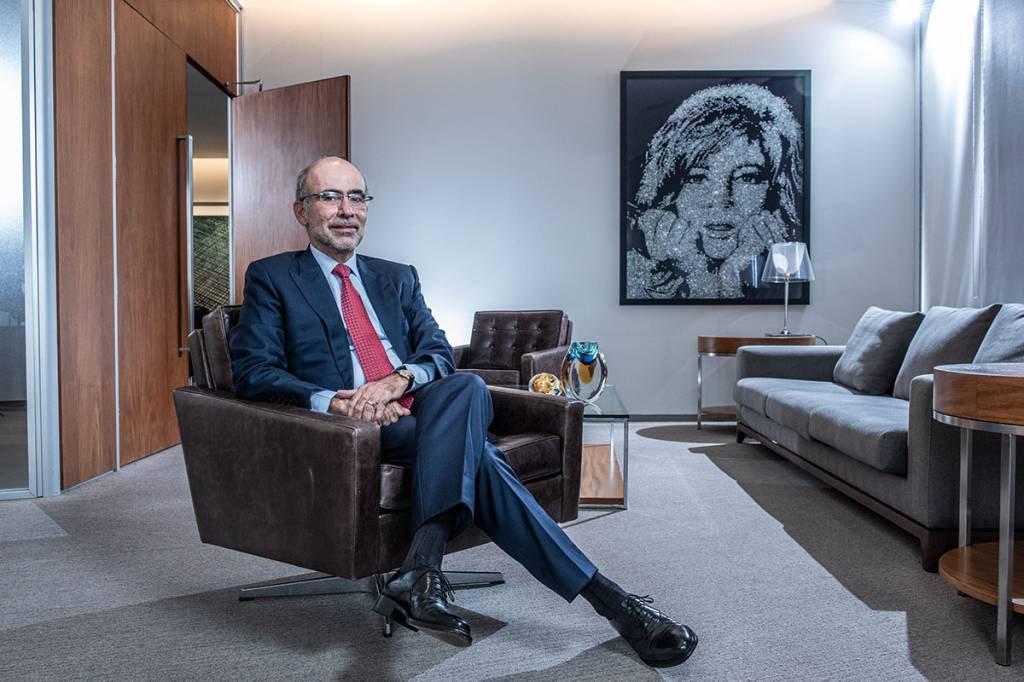 CEO do Credit Suisse no Brasil, José Olympio Pereira