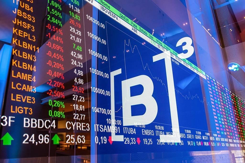 B3; Bolsa; Bovespa; Painel; Investimento; Ações
