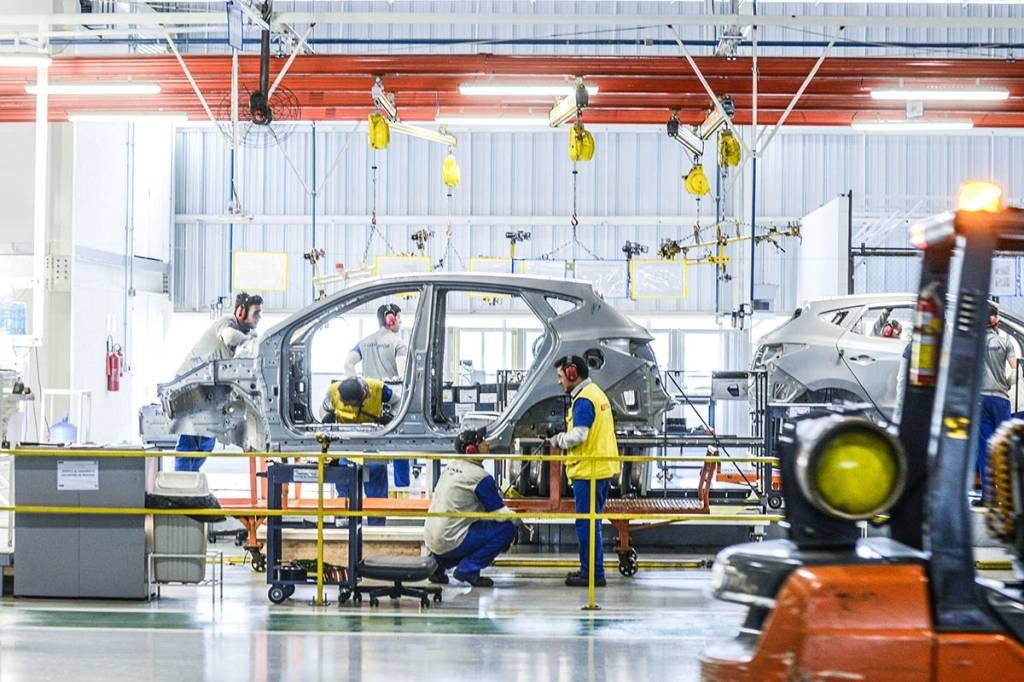 Fabrica da Hyundai; CAOA; Produção; Linha; Automobilística; TrabalhadoresFabrica da Hyundai; CAOA; Produção; Linha; Automobilística; Trabalhadores; Montadora