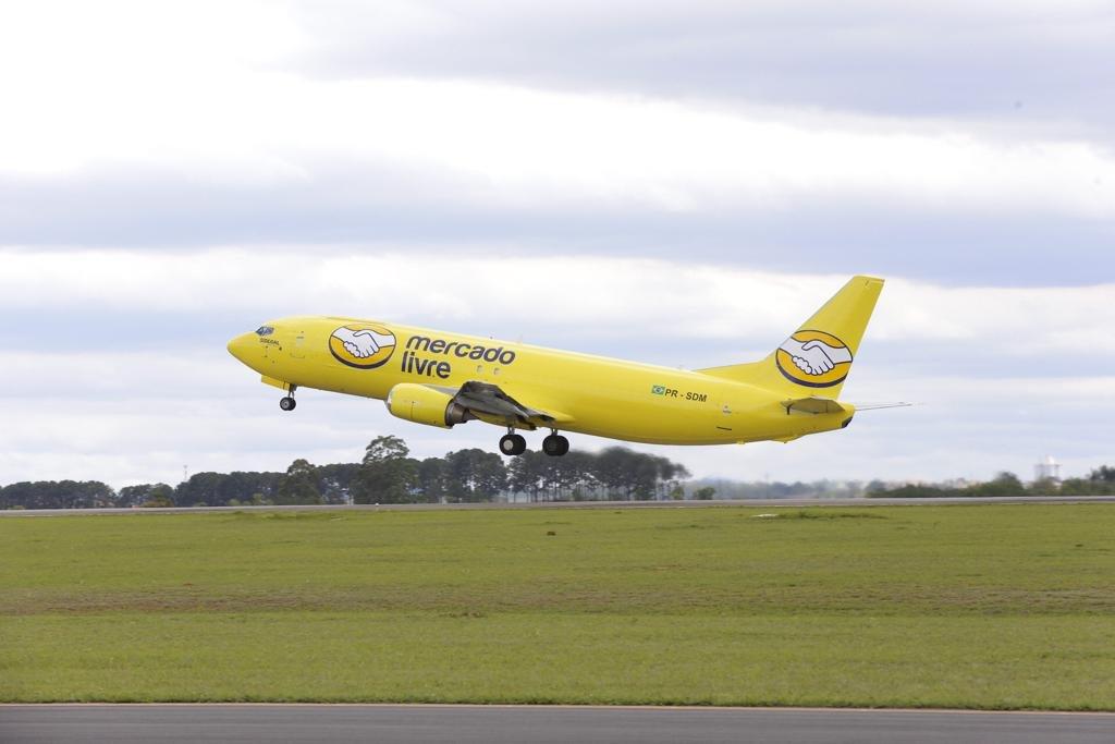 mercad0-livre-frota-aviões-entrega-comércio-eletrônico