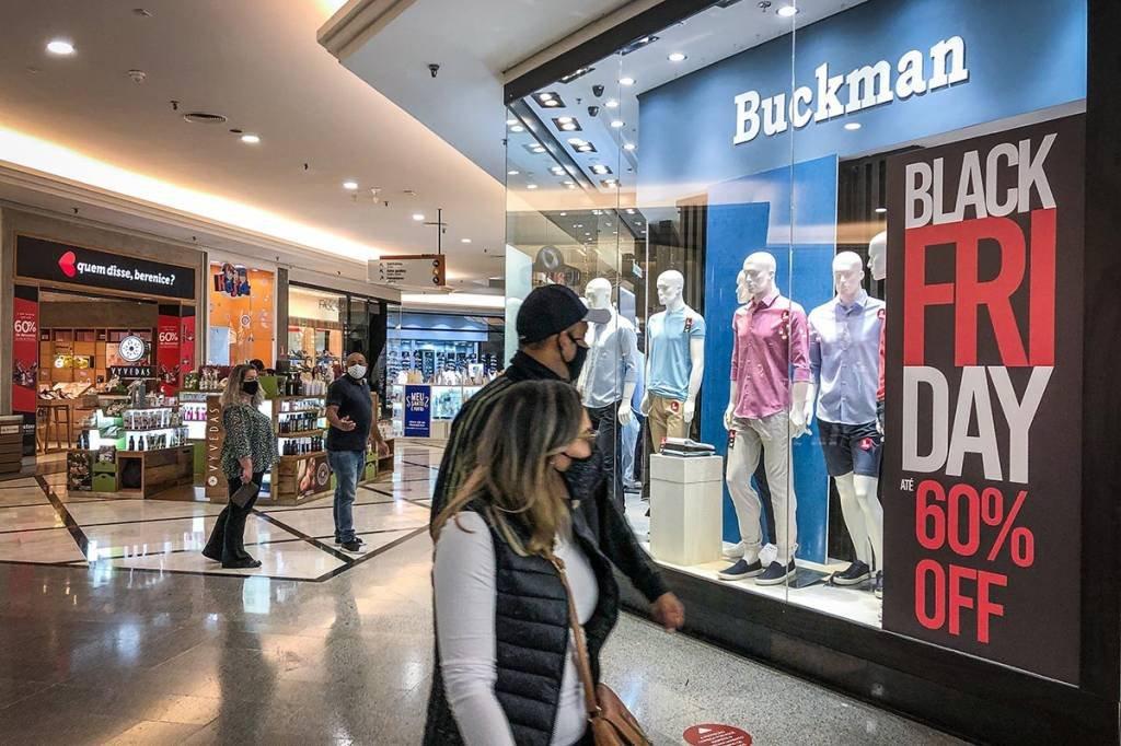 Black Friday; descontos; loja; shopping Eldorado; Consumo; Buckman