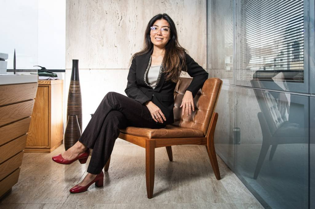 Vivian Lee – gestora da carteira de crédito da Ibiúna Investimentos foto: Leandro Fonseca data: 12/11/2020