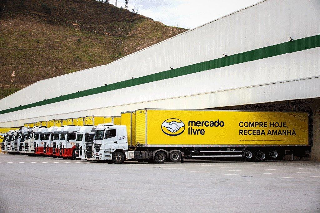 Mercado Livre: divisão de entregas conta com caminhões, centros de distribuição e outros ativos