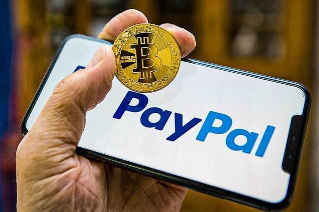 PayPal passa a aceitar criptomoeda