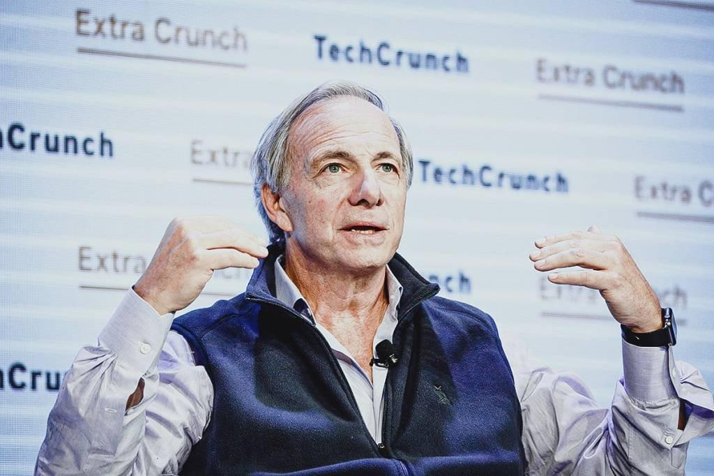 Sócio fundador da Bridgewater Associates, Ray Dalio. Foto: Kimberly White/Getty Images for TechCrunch
