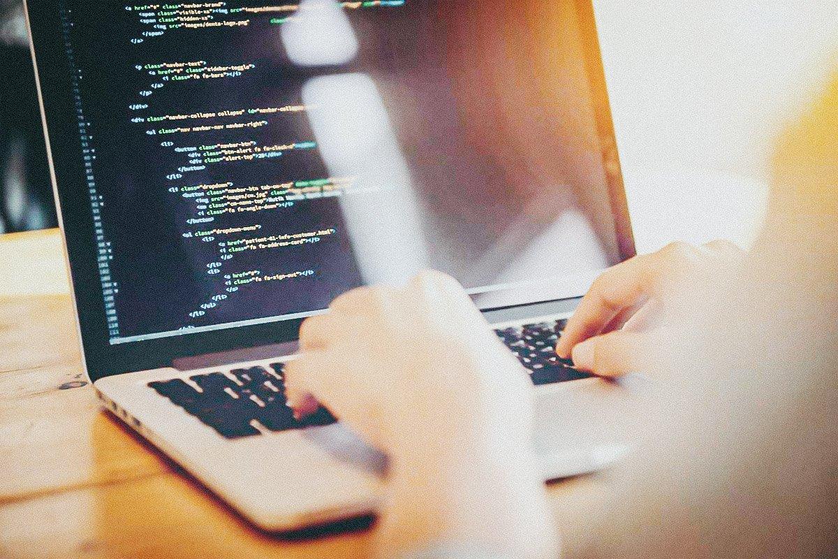 Programação, computador, profissional de tecnologia