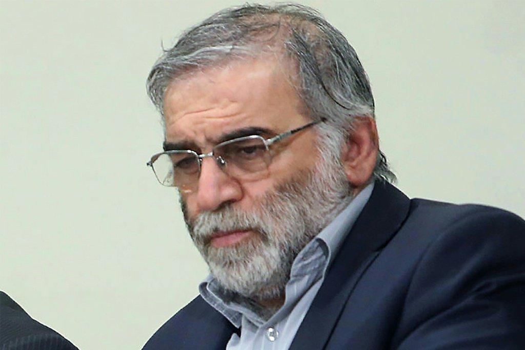 Foto do cientista Mohsen Fakhrizadeh, assassinado na sexta-feira na região de Teerã em um ataque que as autoridades iranianas atribuem a Israel
