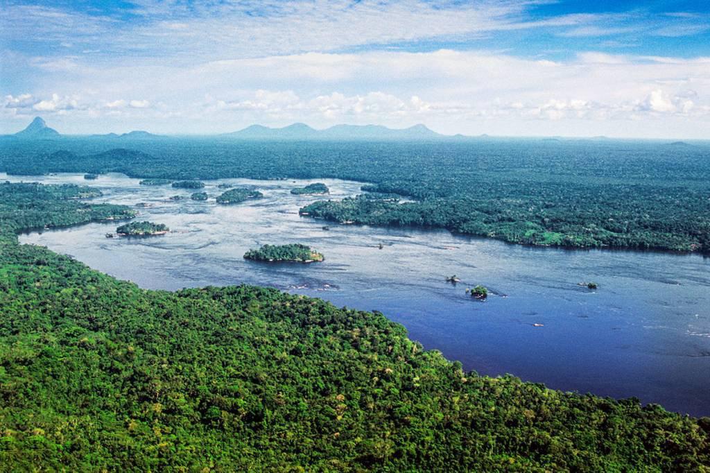 amazonia, satélite