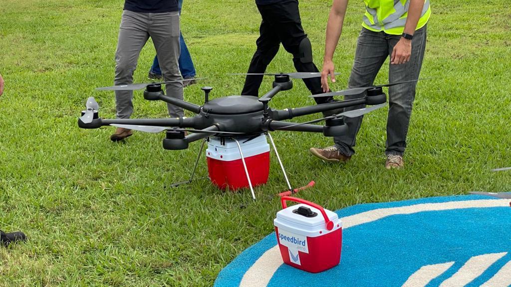 Grupo Pardini será o primeiro a testar o transporte de material biológico em drones