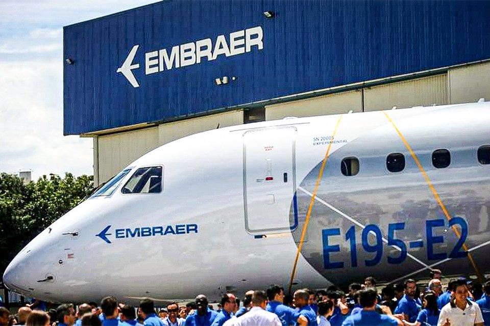 Jatos executivos guiam recuperação da Embraer