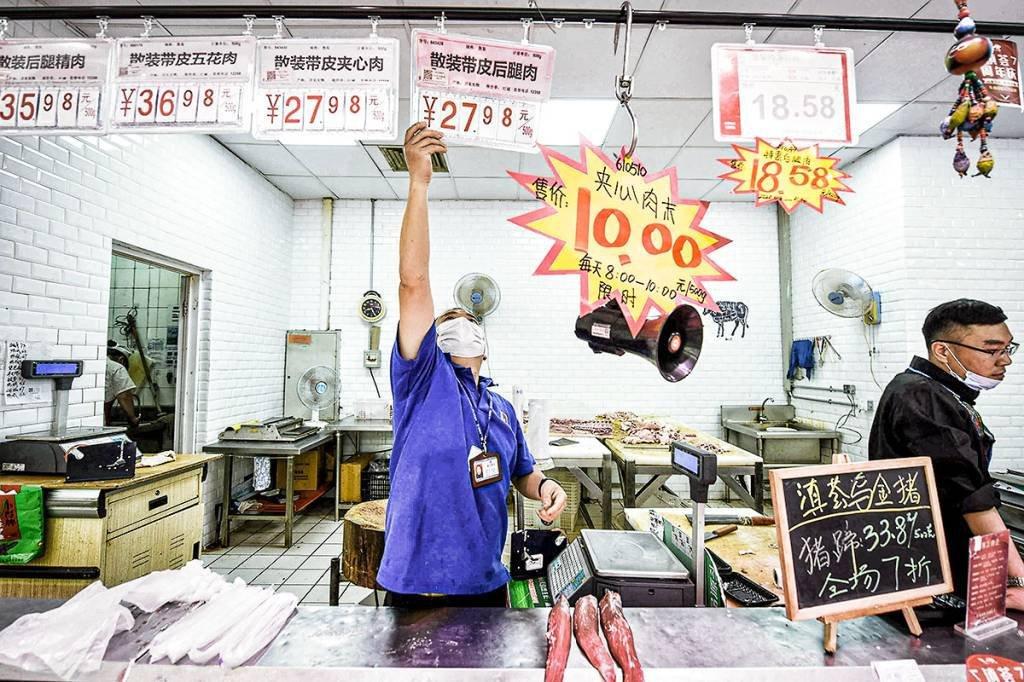 Preços ao produtor na China caem com menos força em novembro