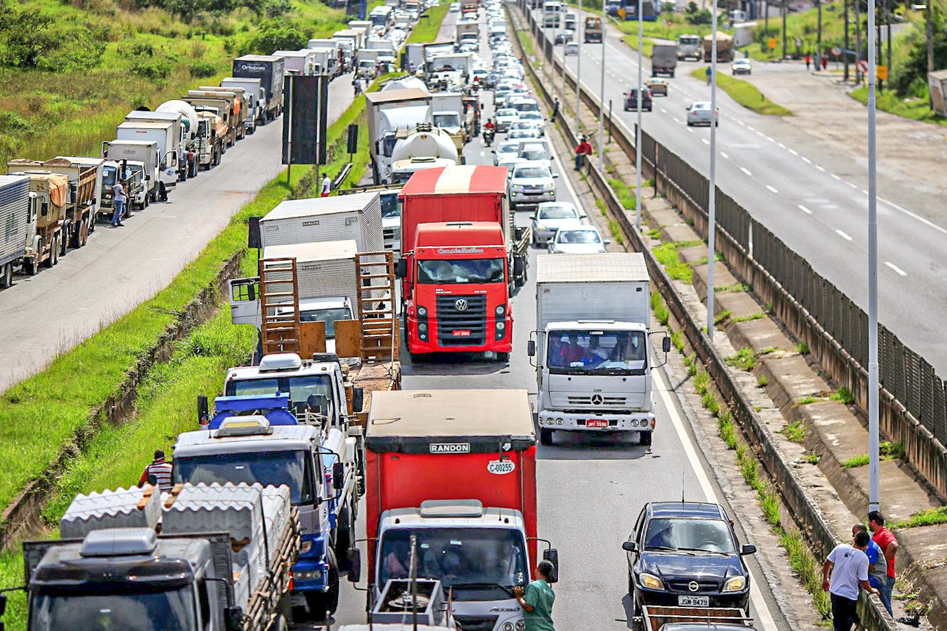 After all, will there be a truckers' strike on Sunday?     Exam