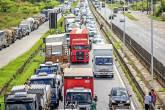 Greve nacional de caminhoneiros 23/05/2018 (Ueslei Marcelino/Reuters)