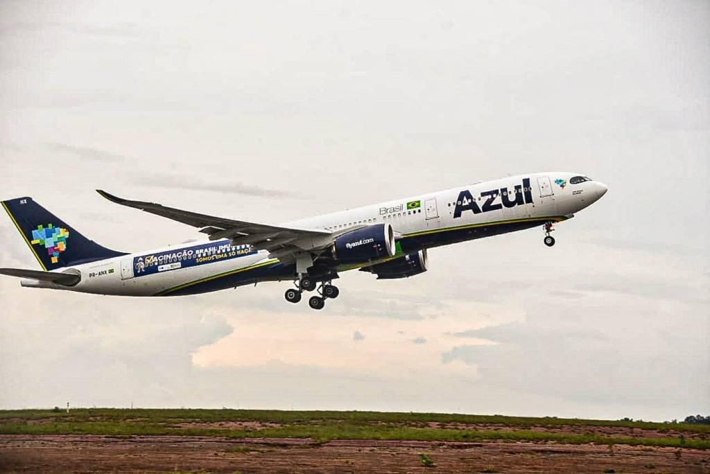 Aeronave trará da Índia 2 milhões de doses da vacina contra a Covid-19 ao Brasil Fotos: Tony Winston/MS