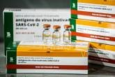 Vacinação contra a Covid-19 começa nesta terça-feira Vacina Coronavírus. Fotos: Breno Esaki / Agência Saúde