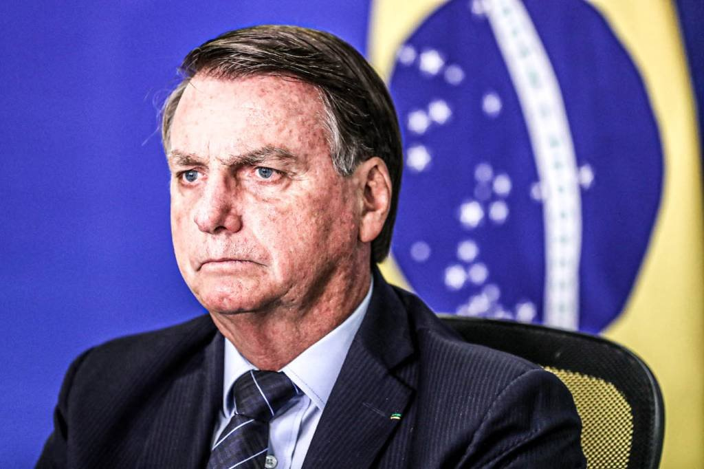Brasília - DF, 26/01/2021) Presidente Jair Bolsonaro na Latin America Investment Conference (videoconferência). Foto: Marcos Corrêa/PR