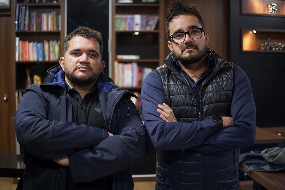Os irmãos Leandro e Leonardo são sócios e fundadores da 300 Franchising.