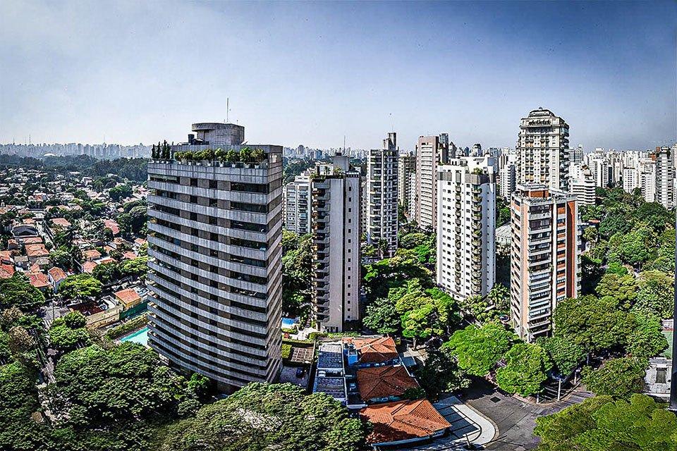 Vila Nova Conceição; Casas; Prédios; Jardins