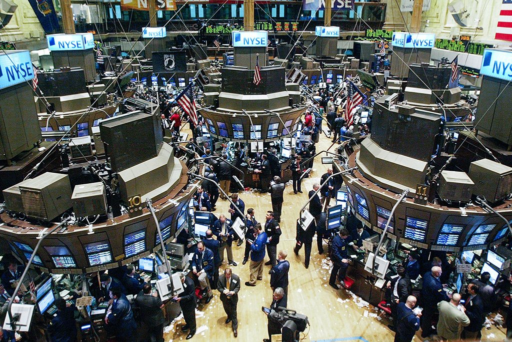 Bolsa de valores em Nova York (NYSE)