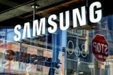 FILE PHOTO: Signage is seen at the Samsung 837 store in the Meatpacking District of Manhattan, New York, U.S.