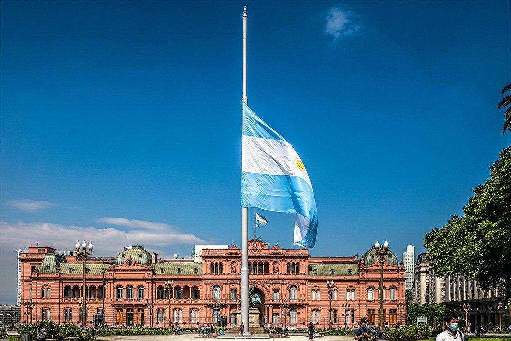 Casa Rosada, sede do governo da Argentina: calote na dívida volta a assombrar o país