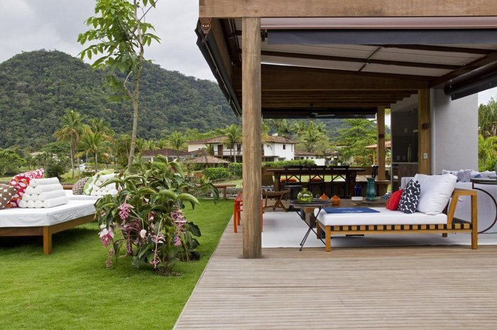 Marilia Veiga Interiores How to make the beach or country house more practical (and less hot)