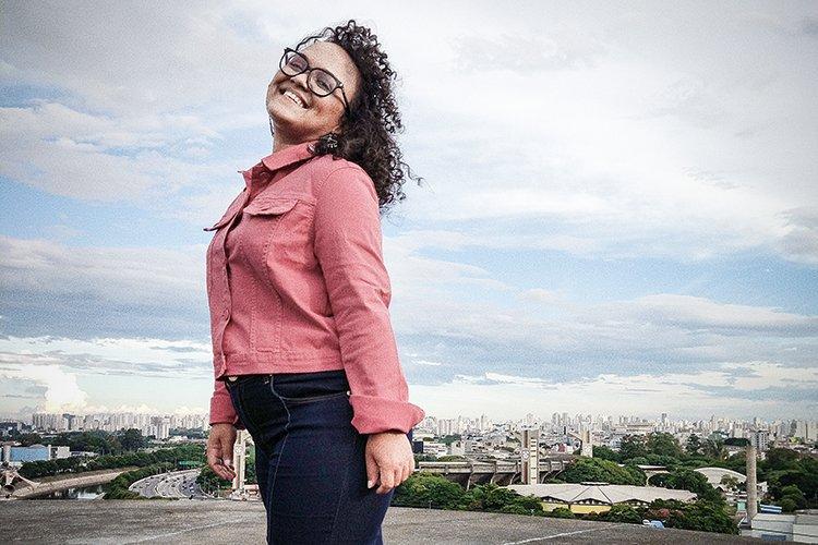 Marina Maia, trainee do Magazine Luiza