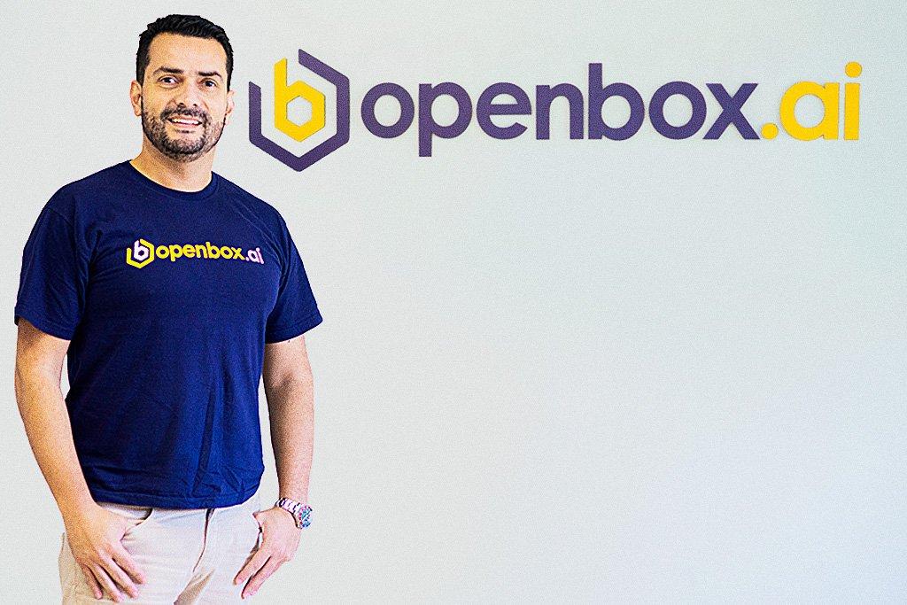 Mauricio Rodrigues, CEO da OpenBox, fintech de antecipação de recebíveis.
