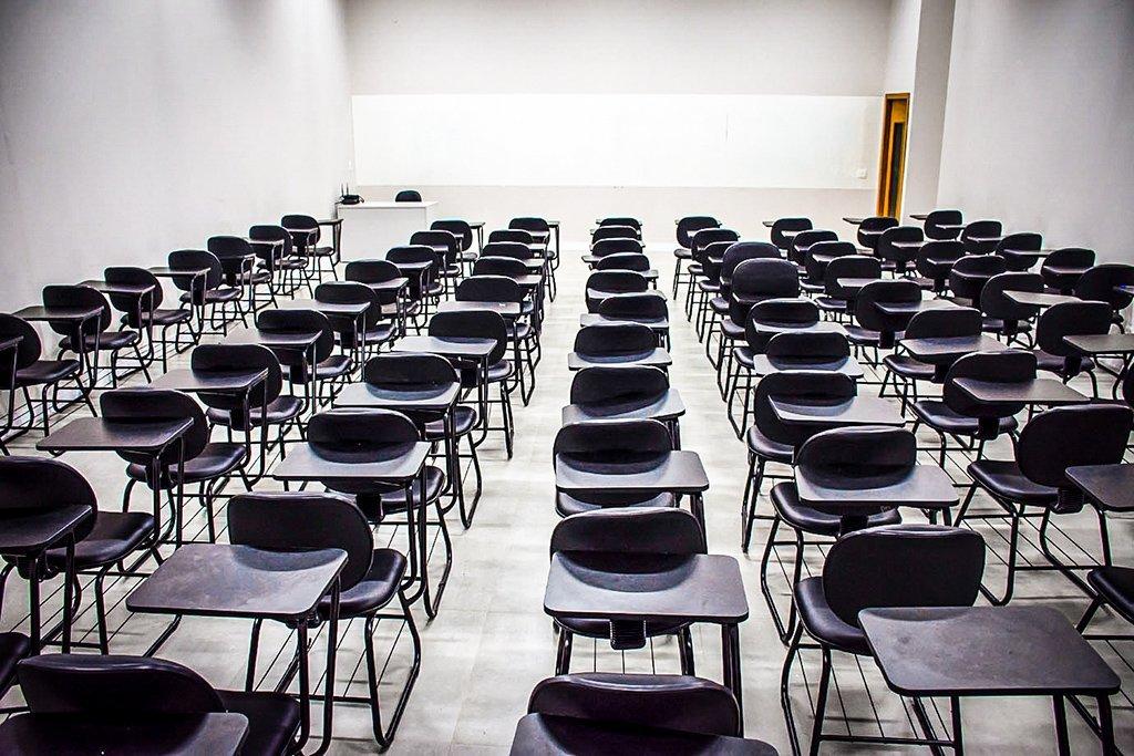 Sala de Aula da Universidade São Judas - escola - universidade - educação